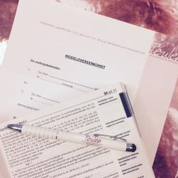 Studieovereenkomst