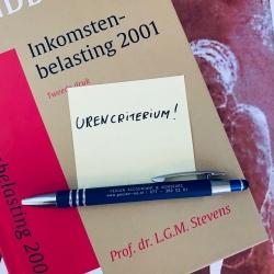 Versoepeling urencriterium...